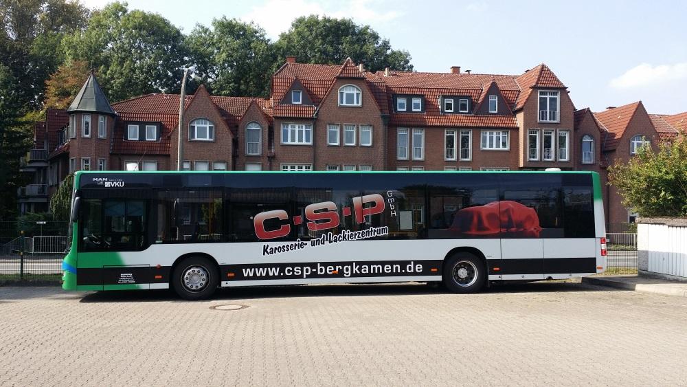 Buswerbung CSP Vehling Reisen Bergkamen